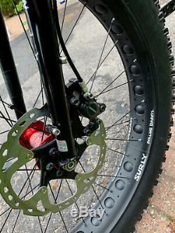Surly Ice Cream Truck Fat Bike Large, Custom Build