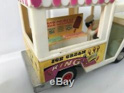Telsalda Hong Kong Ice Cream Van Mr Whippy Style Super Rare Large Plastic 1960s