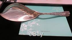 Tiffany Wave Edge Sterling Silver Large Ice Cream Server 11 3/8 4.3 Toz1884