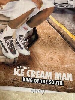 Very Rare Master P All Over T Shirt Ice Cream Man No Limit Records Rap Hip Hop