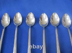 Vintage Bakelite Large Ice Cream Chrome Spoons By N. S. Co. Bakelite Handle