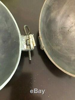 Vintage Pewter Large Peach Banquet Sized Ice Cream Mold 3 Pint S&co