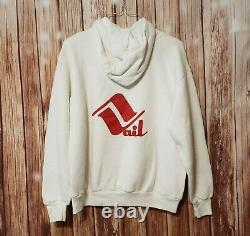 Vtg 80s HAAGEN-DAZS Ice Cream Hoodie Jacket Shirt Henry Rollins L Jerzees