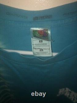 Vtg Silk Screened Ben & Jerrys Ice Cream Long Sleeve T Shirt Tie Dye Size L 90s