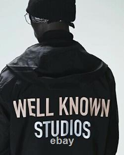 WELL KNOWN STUDIOS The Park Row Coat Black Billionaire Boys Club Large L