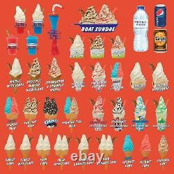 Whippy Ice Cream Van Window Display Sticker Large 1 Trailer Cafe Sign Decal