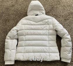 Womens Bogner Fire & Ice Ivory Cream White Down Ski Jacket Gorsuch Catalog 12 L